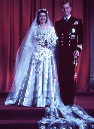 queen elizabeth 2nd wedding. of Queen Elizabeth II of