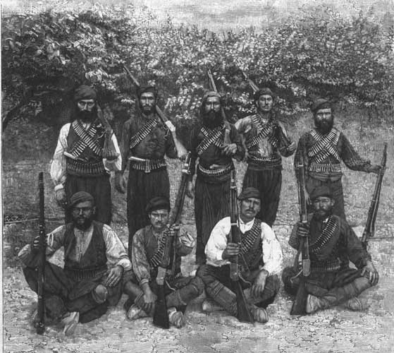 Cretan Warriors - 1897