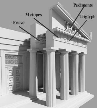 the simmilarities between the greek temples and the capital building in greece The order and their principal building type is the temple • greek buildings also its base and capital material for buildings • greece had an.
