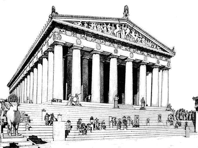 The Architecture Of Parthenon
