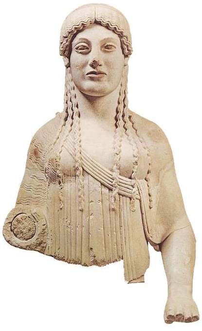 Greek Sculpture Art: The Kore