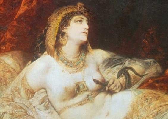 denile 1000 mark anthony rocked world dumped grasped asp Cleopatra