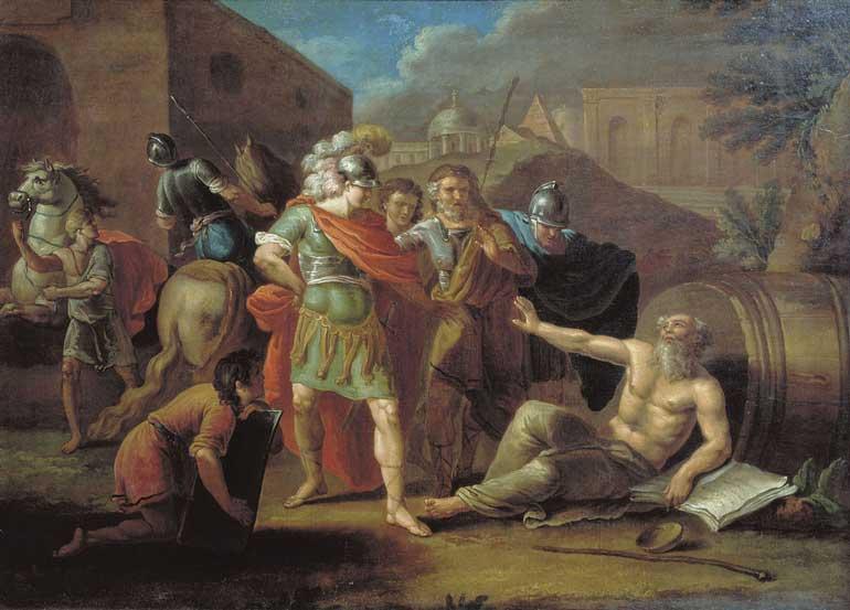 Alexander and diogenes ivan tupylev