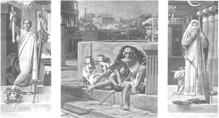 Odyssey Homer Movie. Iliad, Homer and Odyssey