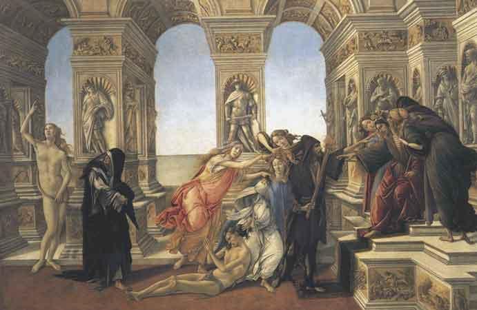 sandro botticelli birth of venus essay