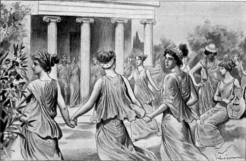 Πυρρίχιος, ο πολεμικός χορός των αρχαίων Ελλήνων. -ΠΥΡΡΙΧΙΟΣ ΧΟΡΟΣ ΓΥΝΑΙΚΩΝ ΣΤΗΝ ΑΡΧΑΙΑ ΕΛΛΗΝΙΚΗ ΕΙΚΟΝΟΓΡΑΦΙΑ