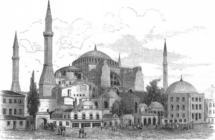 Hagia Sophia Drawing