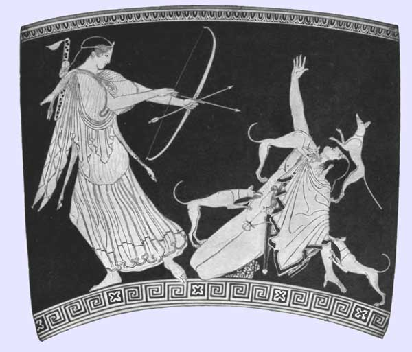 Artemis and Actaeon
