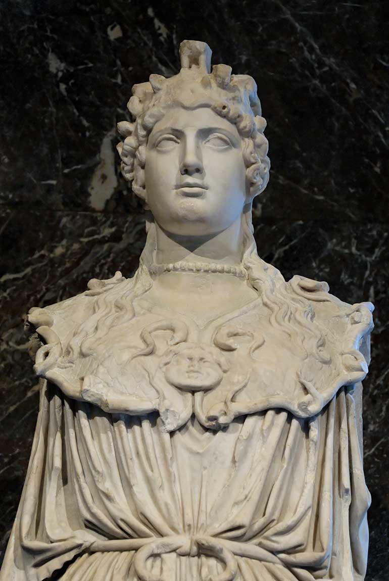 Athena Parthenos Athena Parthenos Louvre Ma91