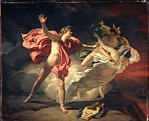 Orphee and Eurydice, Michel Martin Drolling