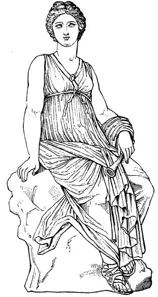 The Muses Clio