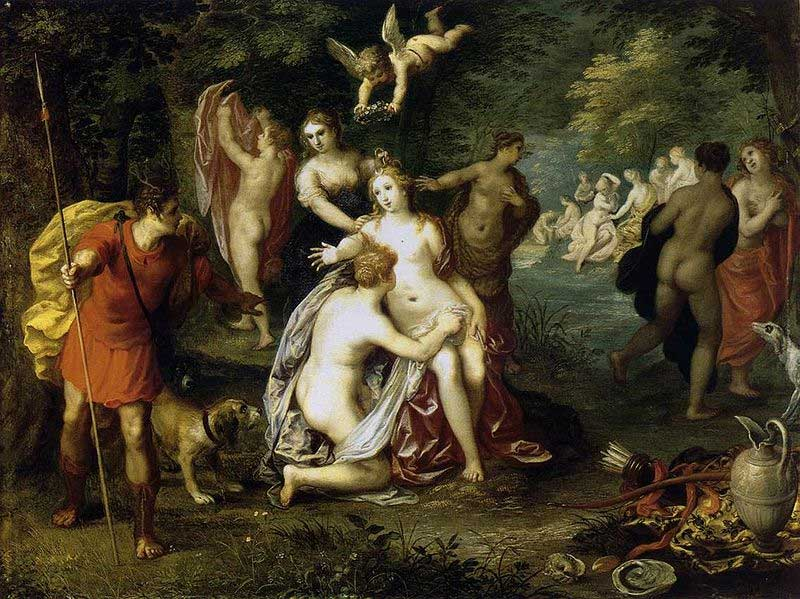 Hendrick van Balen -- Diana and Actaeon