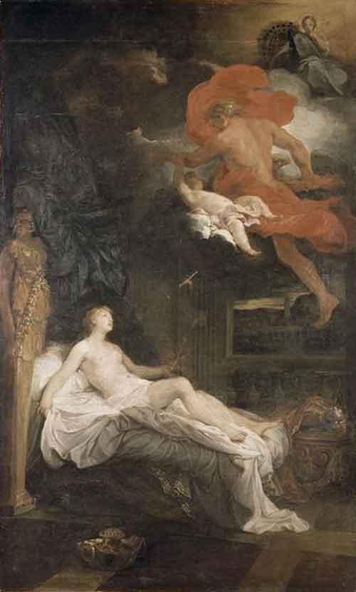 Jupiter And Semele Myth Rubens Jupiter Semele