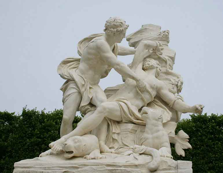Aristaeus and Proteus, Versailles
