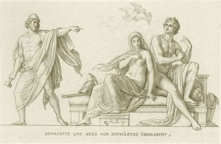 Julius Schnorr Von Carolsfeld Drawings Hephaestus Julius Schnorr Von