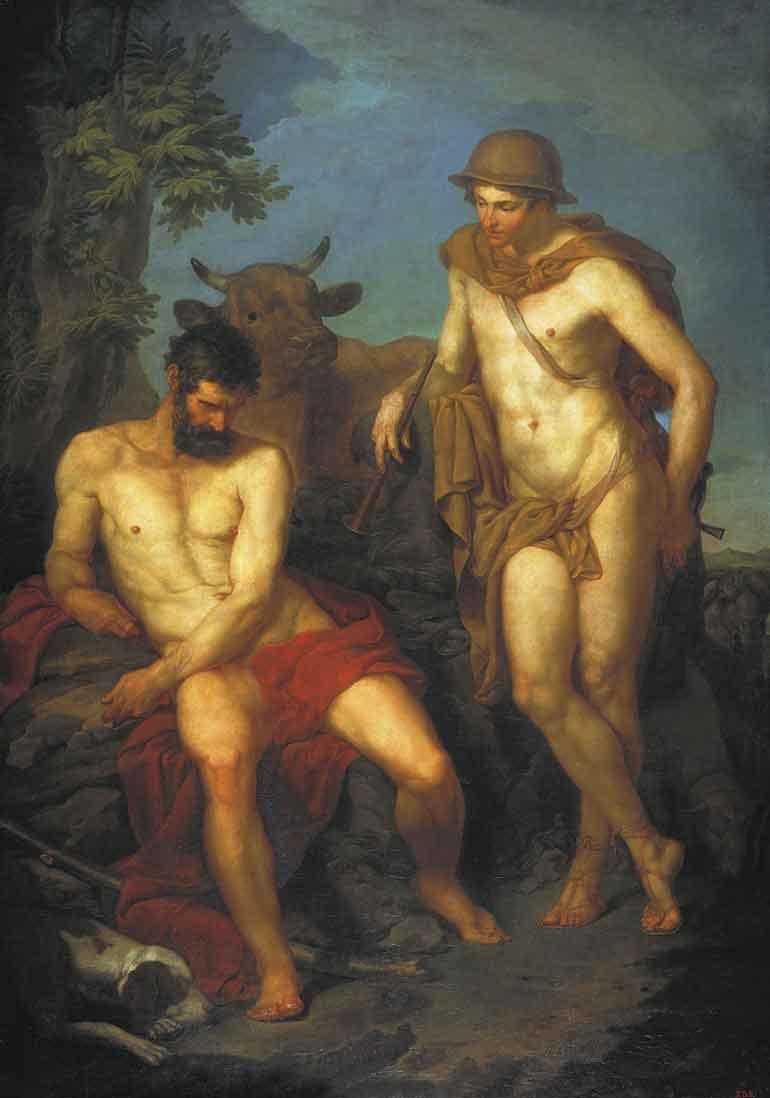 Hermes and Argus, P. I.