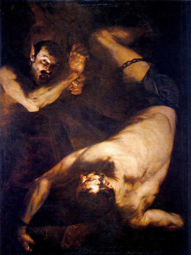 Tableaux du baroque espagnol IxionRibera