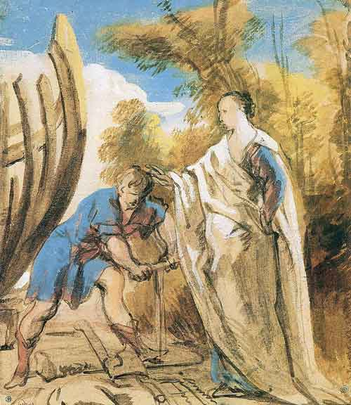 an analysis of the depiction of odysseus in homers poem This lecture provides a rough outline of the exploits of odysseus in homer's epic poem ''the odyssey'' the odyssey: greek epic related analysis & quotes.