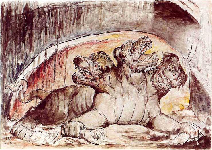 William Blake mythology