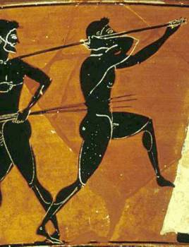 Ancient Olympic Games Javelin  Hellenismcom