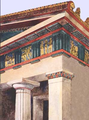an examination of the temple of zeus at olympia