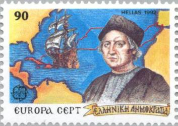 It is also interesting that columbus probably was of greek origin from