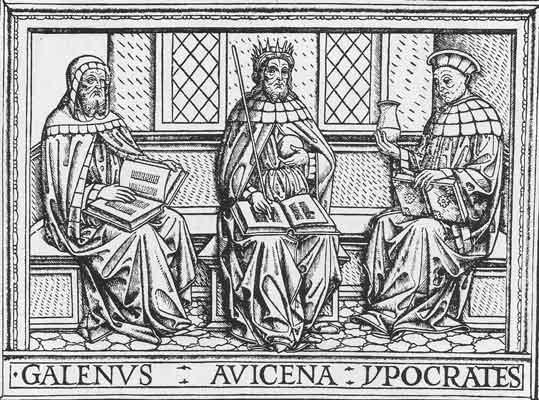 Galen,Hippocrates,Avicenna