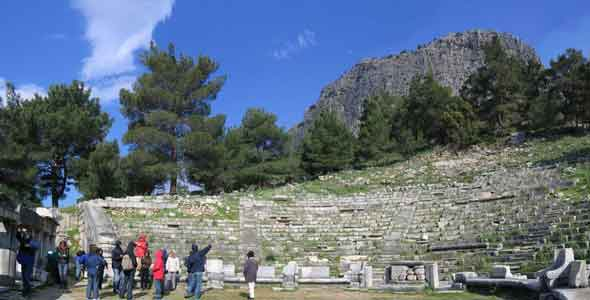 PrieneTheater Priene ancient city of Ionia